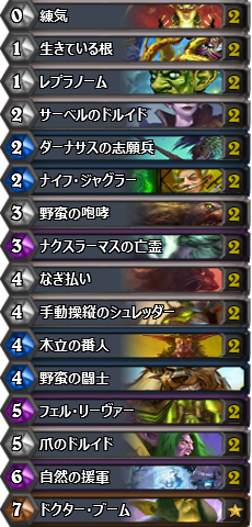 Aggro Druid for TGT 日