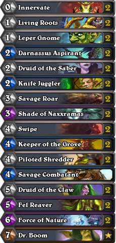 Aggro Druid for TGT 英